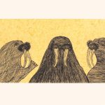Walrus Lore by Qiatsuk Ragee 21-04 2021 Dorset Print Collection