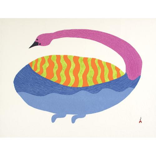 Drifting Home by Saimaiyu Akesuk 21-10 2021 Dorset Print Collection